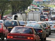 В Киеве уже зарегистрировали миллион автомобилей