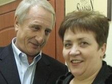 Валентина Семенюк обвенчалась в столичной церкви