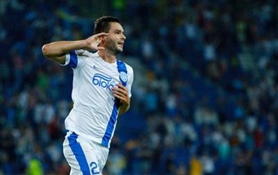 Днепр добывает тяжелую победу над Хайдуком в Лиге Европы