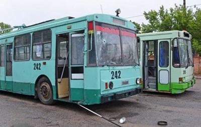 Транспорт в Донецке выполняет 70% рейсов