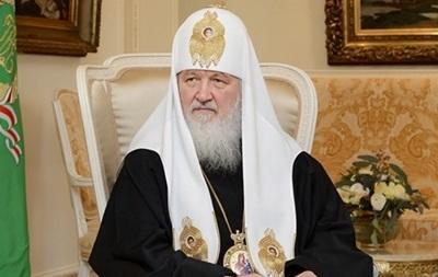 Патриарх Кирилл поздравил Порошенко с Днем Независимости и призвал остановить войну