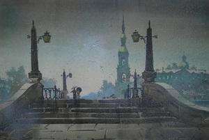 Прерванный полет - выставка памяти тольяттинского художника Владимира Сабаева