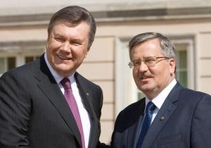 Польша против упоминания европейской перспективы Украины в соглашении об ассоциации