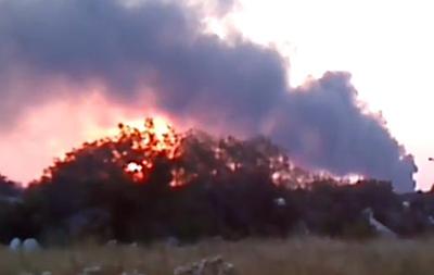 Под Донецком горит Ясиновский коксохимический завод