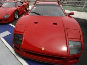 В Москве сгорел Ferrari, купленный за полчаса до происшествия