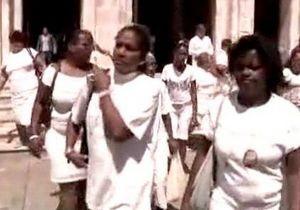 Акция Женщин в белом на Кубе закончилась арестами