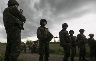 Военные в зоне АТО