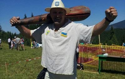 Вирастюк облился ледяной водой со словами  Слава Украине!