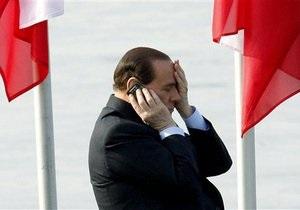 Номер мобильного телефона Берлускони попал в интернет