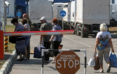 В России вновь сообщают о пересечении границы украинскими беженцами