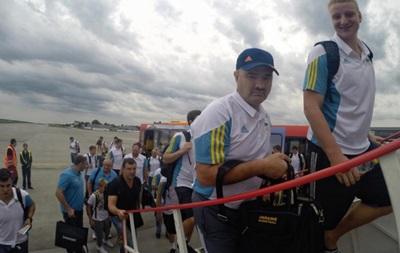 Баскетбольная сборная Украины прибыла в Испанию