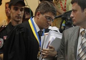 Суд удалился в совещательную комнату для принятия решения об изменении меры пресечения для Тимошенко