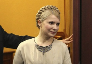 Тимошенко: Ющенко и Яценюк  скребутся  в дверь Януковича