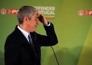 Премьер Португалии подал в отставку
