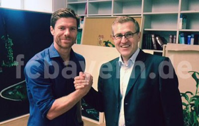 Бавария объявила о подписании контракта с Хаби Алонсо