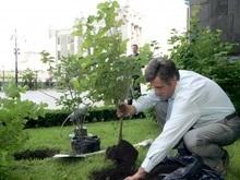 В четверг Ющенко даст пресс-конференцию на лужайке
