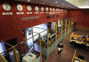 Украинские биржи открылись обвалом котировок