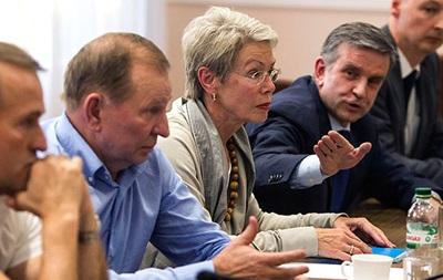 Переговоры контактной группы по Донбассу