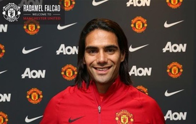 Официально: Манчестер Юнайтед взял в аренду Фалькао