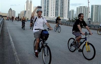 В Киеве проведут акцию На велосипеде на работу