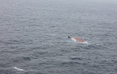 При крушении лесовоза в Японском море из украинско-российского экипажа погиб один человек