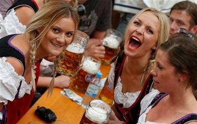В Мюнхене стартует Октоберфест