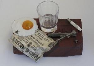 Музей Фаберже купил за миллион долларов яичницу и скелет селедки