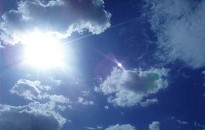 На выходных в Украине сохранится солнечная погода