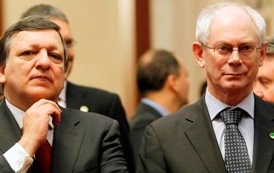 Ромпей и Баррозу рассказали о новых санкциях ЕС против России