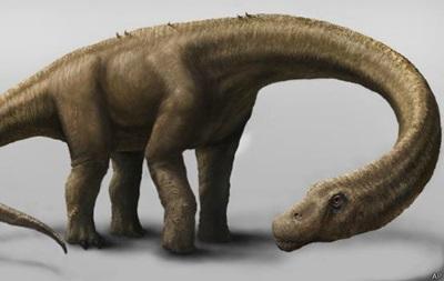 Ученые показали кости гигантского динозавра