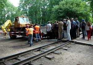 В Харькове снова произошла потасовка: противники вырубки парка попали в больницу