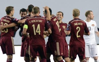 Россия забила четыре безответных мяча Лихтенштейну