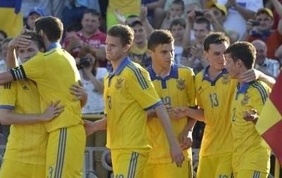 Молодежная сборная Украины легко выходит в плей-офф отбора на Евро-2015