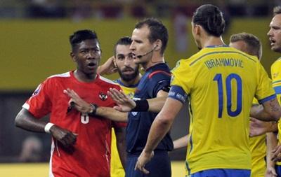 Ибрагимович: Накажите меня дисквалификацией на 40 матчей
