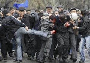 Киргизская оппозиция заявила, что в ходе волнений погибли 100 человек