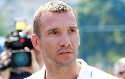 Шевченко: Игра была равная при небольшом преимуществе Украины