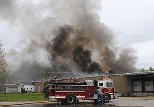В американском Нью-Гэмпшире взорвался оружейный завод