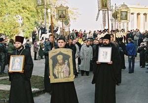 В церквях Одесской области молятся за усмирение стихии