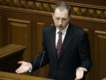 С сентября Яценюк будет распознавать депутатов по пальцам