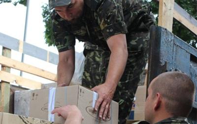 К украинской границе прибыла гуманитарная помощь из Польши