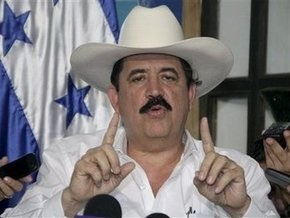Селайя ставит ультиматум временным властям Гондураса
