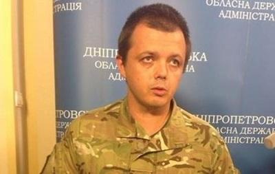 Комбат Донбасса Cемен Семенченко прилетел в США