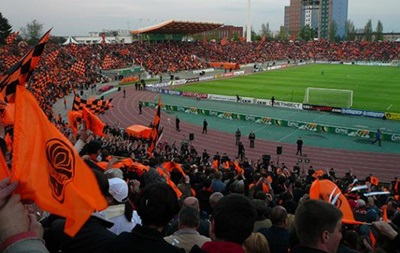 Донецкий Олимпийский стадион  национализирован  представителями ДНР