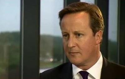 Кэмэрон: Распад Британии разобьет мне сердце