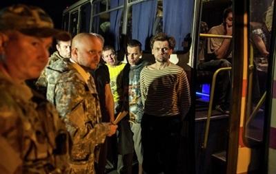 Сепаратисты отпустили из плена пятерых украинских пограничников