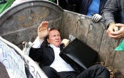 Kidobtak a kukába egy ukrán parlamenti képviselőt