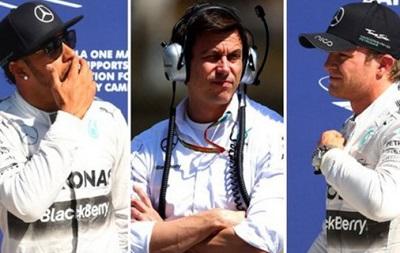 Глава Mercedes: Хэмилтон и Росберг стали врагами