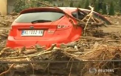 В Сербии продолжает буйствовать наводнение, есть жертвы