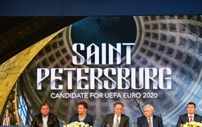 Вице-президент UEFA: Не исключено, что Евро-2020 пройдет в Петербурге