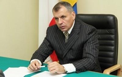 Константинов снова возглавил  парламент  Крыма